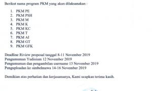 PENGUMUMAN-SELEKSI-PROPOSAL-PKM-2020-TINGKAT-UNIVERSITAS